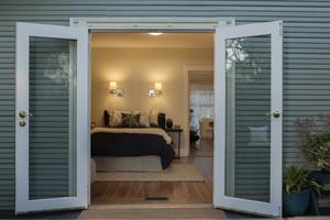 Hinged patio door & Jersey City Replacement Patio Doors | Sliding Door Installation Pezcame.Com